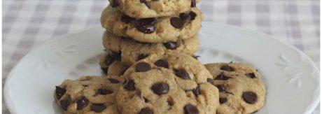 Receta de cookies americanas con chocolate