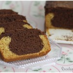 Plum cake sabor vainilla y chocolate