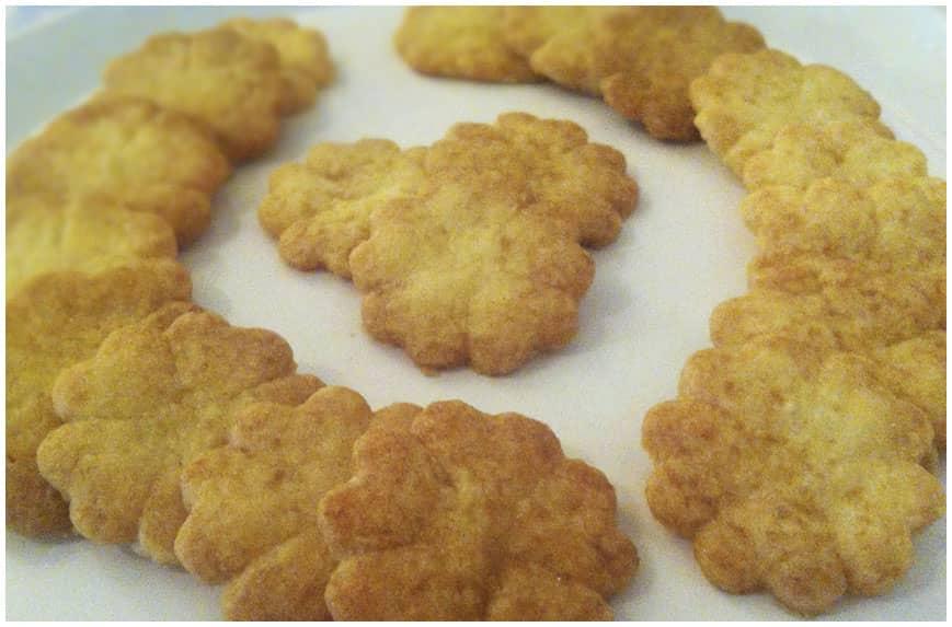 Receta de galletas de mantequilla caseras