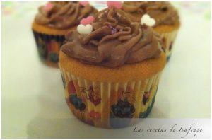 Cupcakes de cacahuetes con buttercream de Nutella 860 X 573
