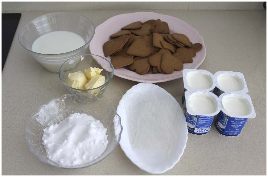 Tarta de yogur griego sin horno