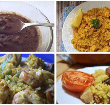 Cuatro fabulosas recetas de arroz, 1ª parte