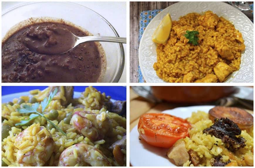 Cuatro fabulosas recetas de arroz: 1ª parte