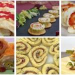 Seis recetas de rollitos salados