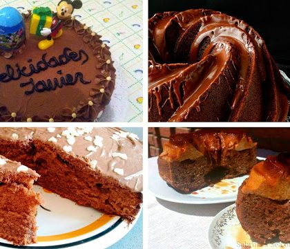 Tartas de chocolate sublimes, 1ª parte