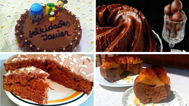 Tartas de chocolate sublimes: 1ª parte