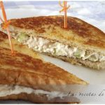 Sándwich de pollo con solo tres ingredientes