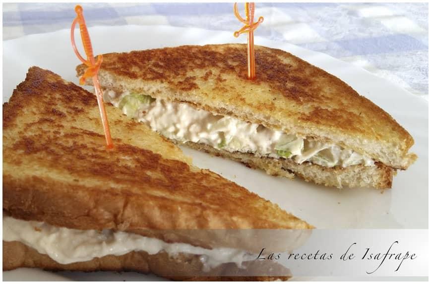 Sándwich de piña y Provolone