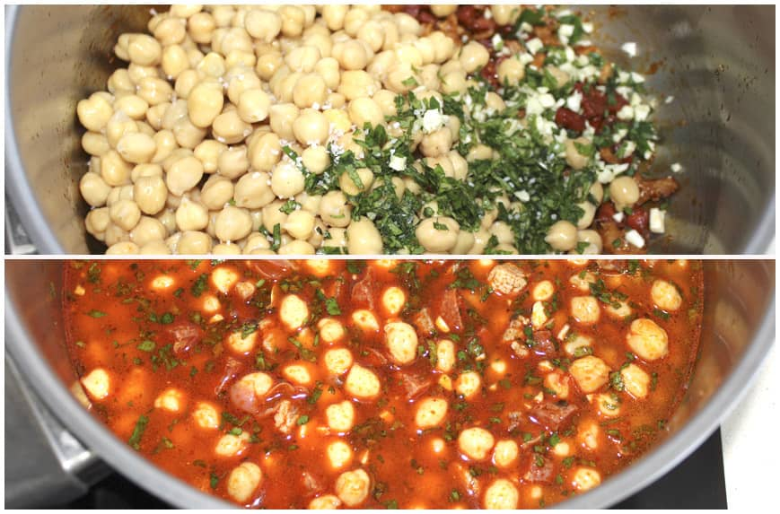 GARBANZOS CARNE CHORIZO COLLAGE 3 860 X 573