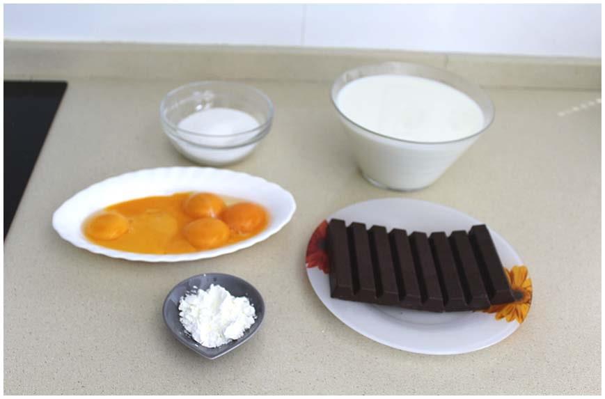 Natillas caseras de chocolate muy cremosas