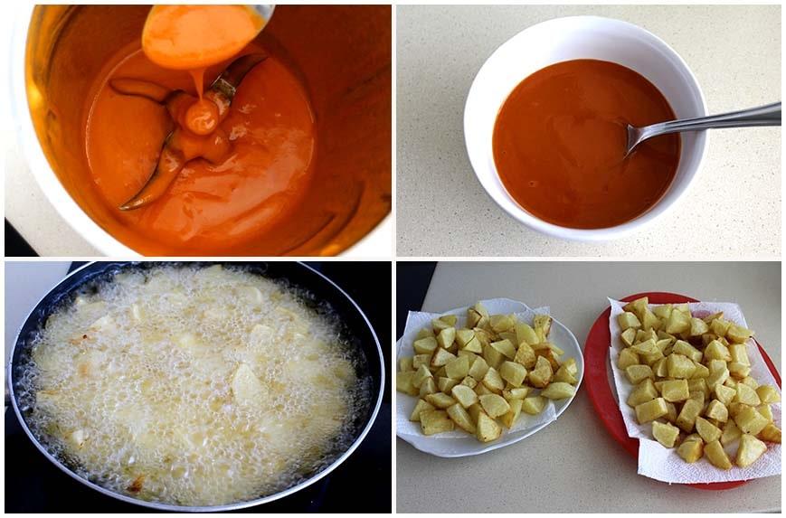 Patatas bravas, versión rápida y fácil