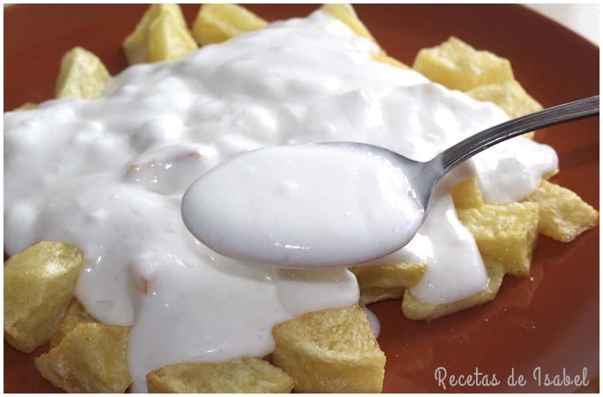 Cómo hacer mayonesa de ajo sin huevo