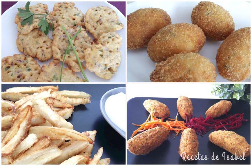Recetas de fritos variados