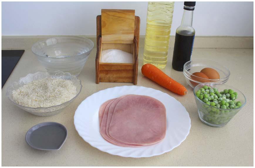 Cómo hacer arroz frito estilo chino casero