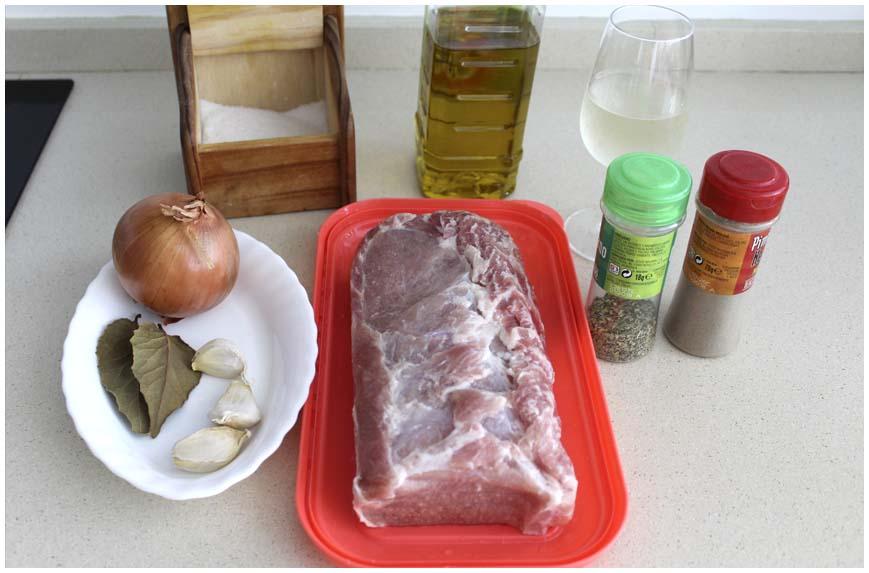 Lomo de cerdo asado muy jugoso