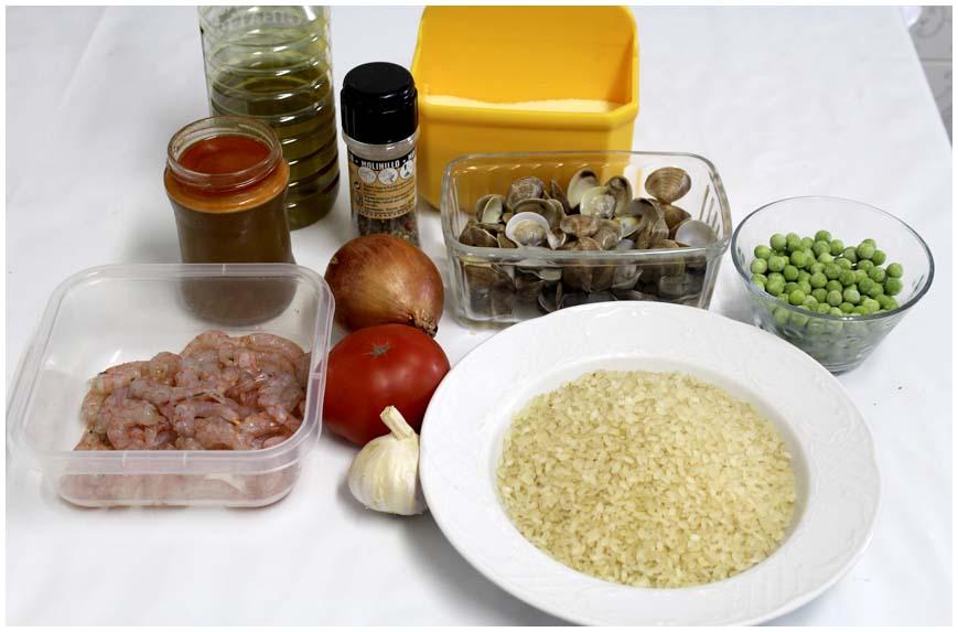 arroz-con-gambas-y-almejas-ingredientes-860-x-573