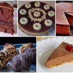 Cinco dulces con mucho chocolate