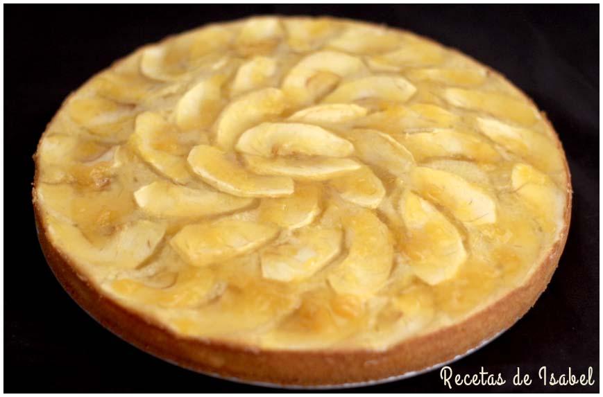 Tarta de manzana muy simple