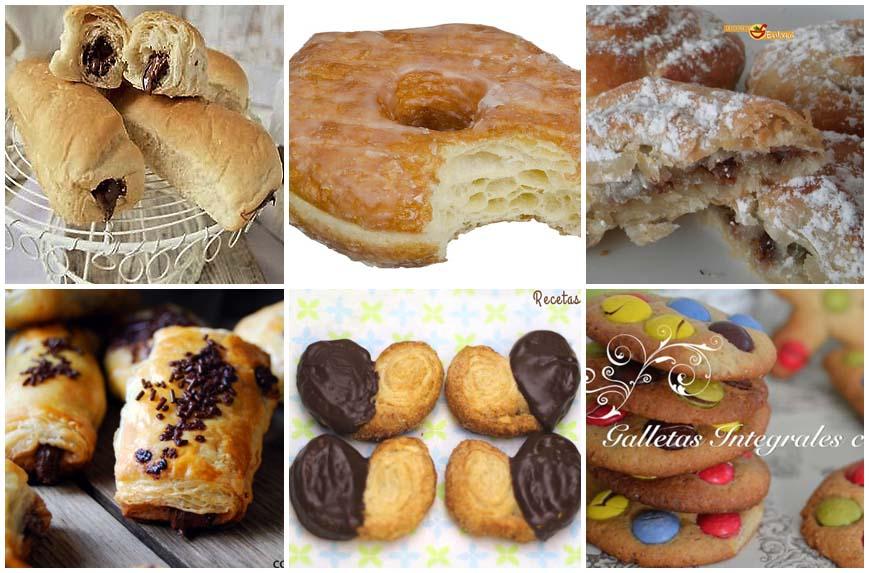 Recetas de bollería para el desayuno y la merienda