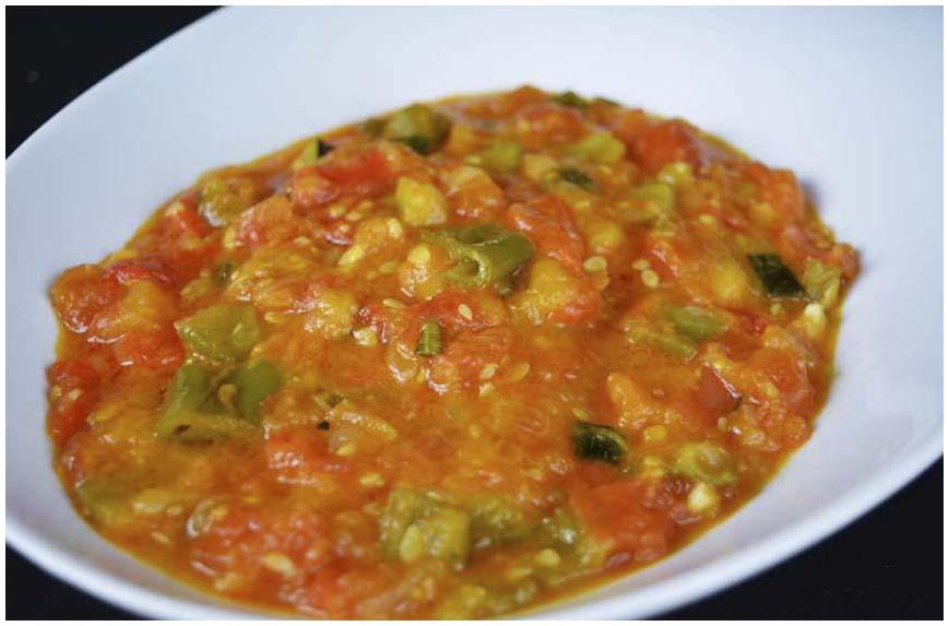 para los que nos gustan las verduras esta es una de las formas ms sabrosas y sencillas de prepararlas adems este pisto casero puede ser la base de