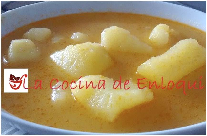 estas patatas de verano es un plato de cuchara sencillo rpido y econmico