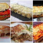 Recetas de lasañas, canelones y más
