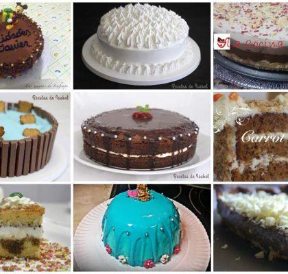 Tartas de cumpleaños para tus celebraciones