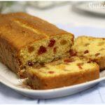 plum cake de frutas confitadas muy fácil