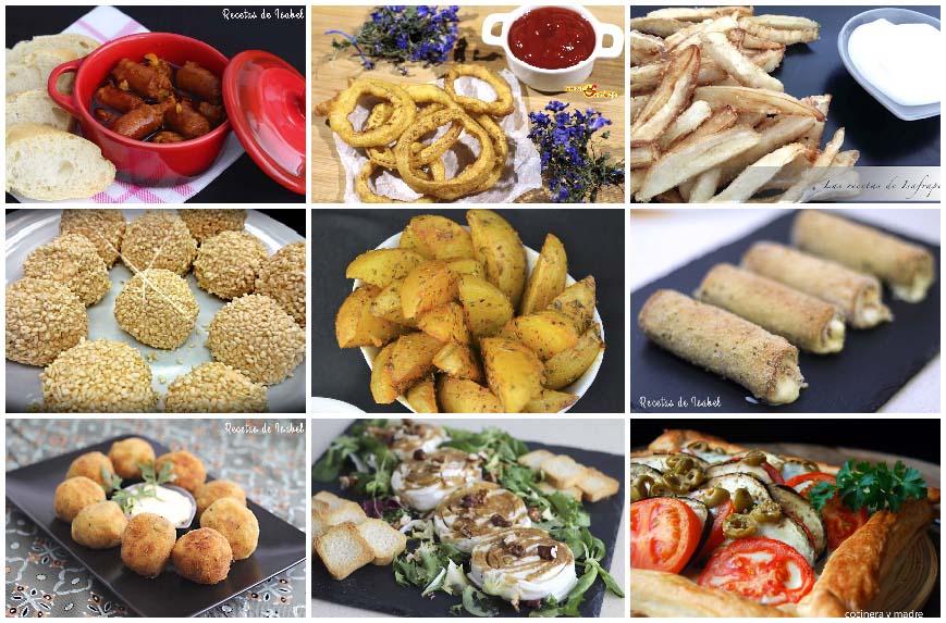 9 recetas de aperitivos calientes