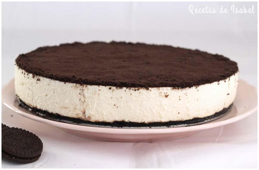 Cómo hacer cheesecake de oreo sin horno