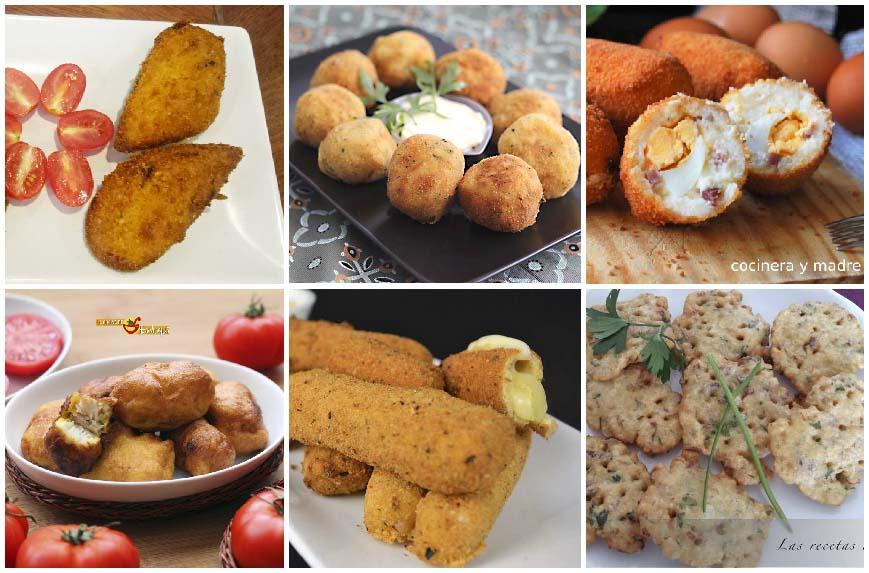 6 recetas de fritos variados