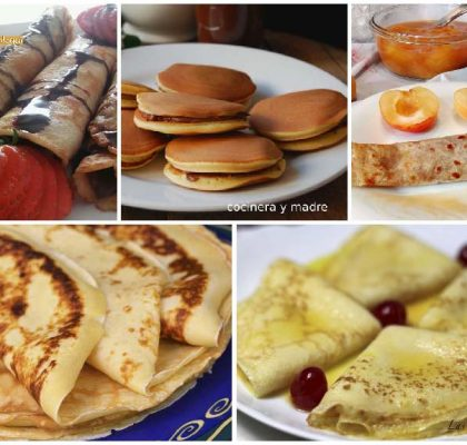 Recetas de crepes y tortitas sencillas