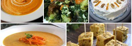 Recetas con zanahorias saladas y dulces