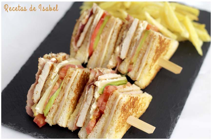 Recetas de sándwiches caseros variados