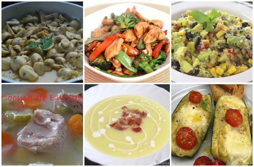 Recetas para cenas ligeras recetas de isabel - Ideas cenas saludables ...