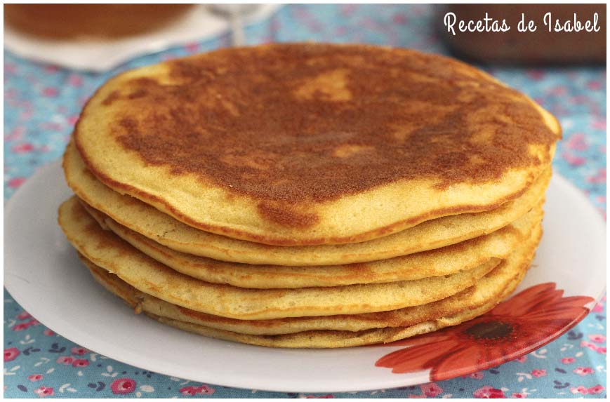Cómo hacer pancakes o tortitas americanas