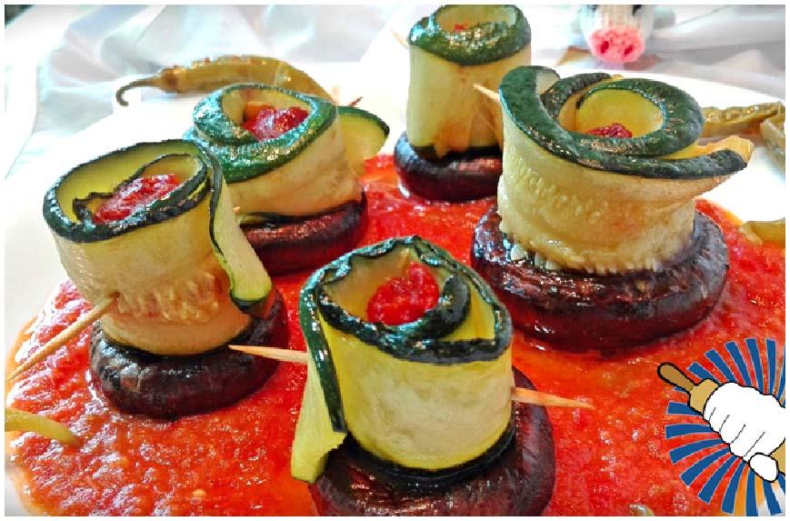 Recetas de calabacines rellenos. Cuatro platos fáciles