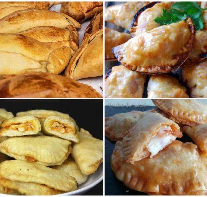 Recetas de empanadillas de sabores variados