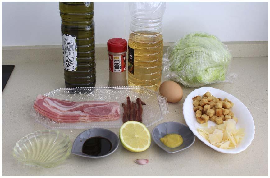 Cómo hacer ensalada César en casa