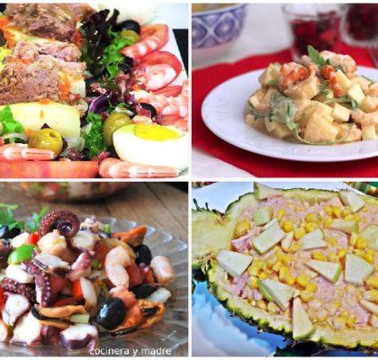Recetas de ensaladas para Navidad fáciles