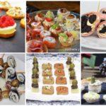 Recetas de canapés y aperitivos fríos y fáciles