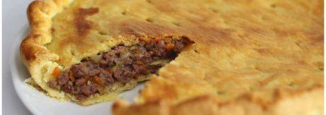 Pie de carne o pastel de carne inglés