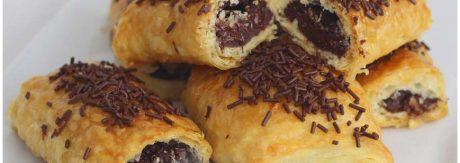Napolitanas de chocolate paso a paso