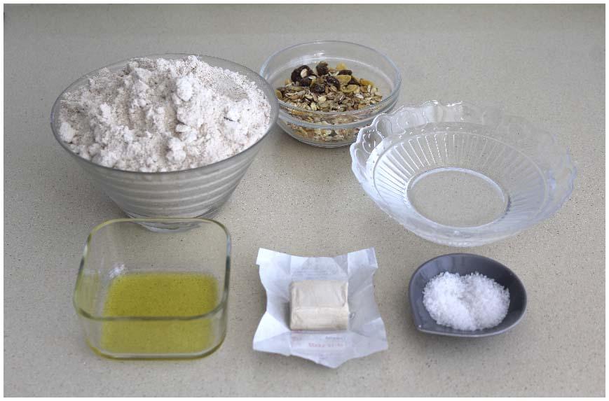 Receta de pan de espelta fácil y económico