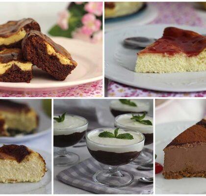 Recetas de postres con queso crema fáciles
