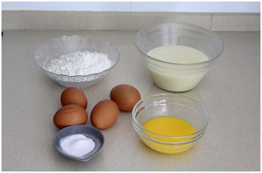 Bizcocho de leche condensada fácil y esponjoso