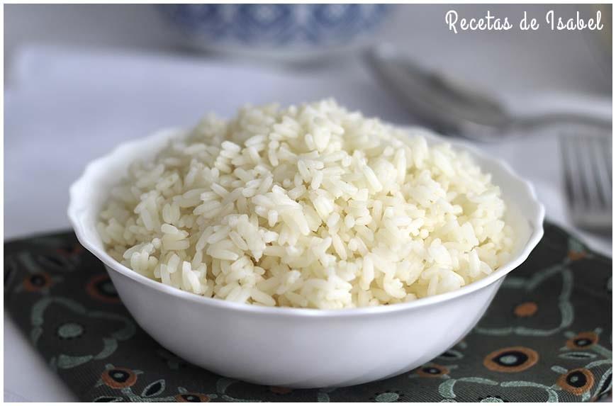 Cómo hacer arroz blanco que quede suelto