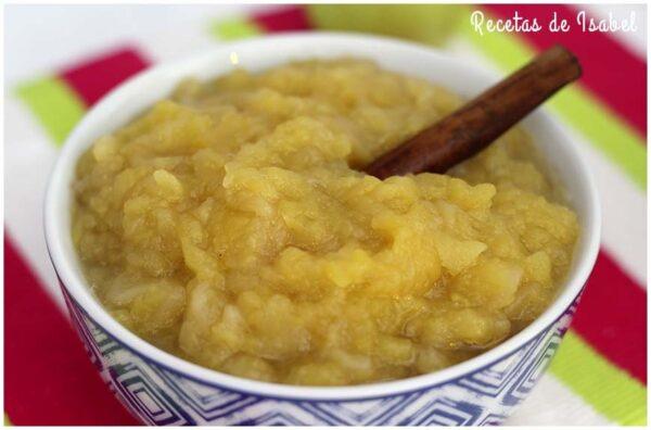 Compota de manzana, receta tradicional muy fácil