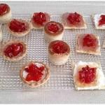 Confitura de pimientos rojos para canapés