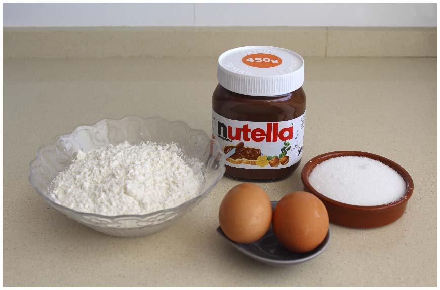 Galletas de Nutella muy rápidas de hacer